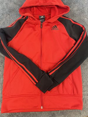 Adidas Therma Fit Type Hooded Jacket- Size Youth Large 14/16. for Sale in Mason, OH