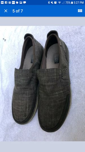 Patagonia men's whino natural hemp henna Brown slip on deck shoes size 10 for Sale in Buford, GA