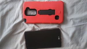 LG stylo with case for Sale in Prattville, AL