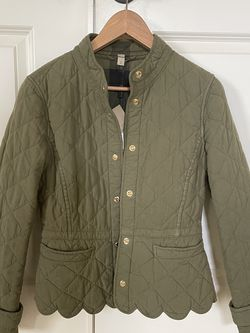 Burberry Quilted Scalloped Jacket XS for Sale in Tigard,  OR