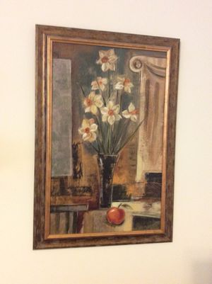 Wall decor painting framed picture for Sale in Apex, NC