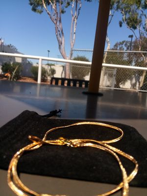 Gold Necklace 18k $60 each for Sale in Los Angeles, CA