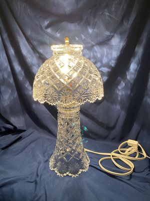 Vintage Lead Crystal Lamp for Sale in Escondido, CA