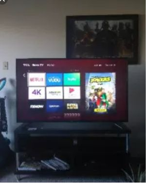 55 inch tcl roku tv for Sale in Midlothian, VA