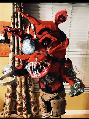 """FNAF """"Foxy Pirate"""" professionally made Cosplay for kids for Sale in Parrish, FL"""