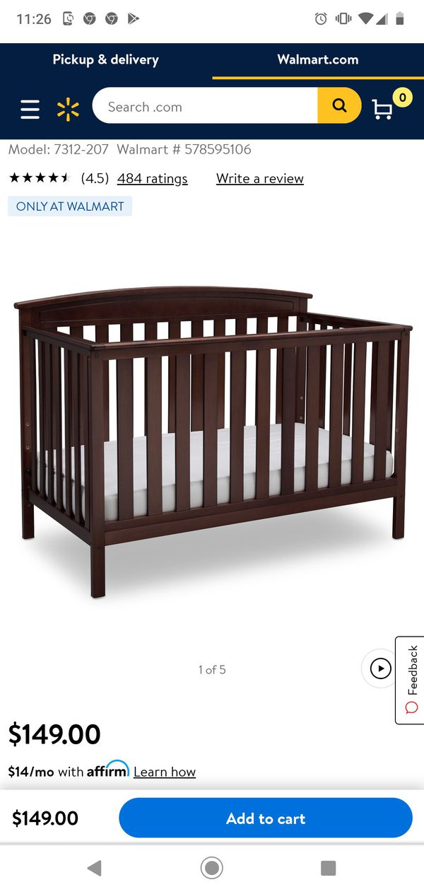 Wooden Baby/ Full size bed...