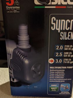 Sicce Syncra Silent 3.0 Pump for Sale in Westminster,  CA