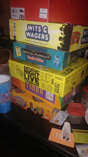 Board games for Sale in San Antonio, TX