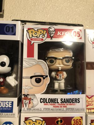 Funko Pop! Colonel Sanders for Sale for Sale in Los Angeles, CA