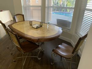 Dining/Kitchen Table and 4 chairs for Sale in Madeira Beach, FL