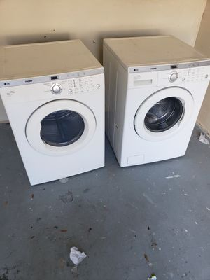 LG WASHER & DRYER SET $200 for Sale in Tampa, FL