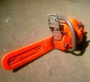 Husqvarna Industrial Chainsaw for Sale in Fairfax, VA