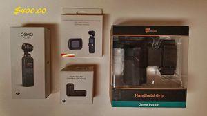 DJI OSMO Pocket Camera w/Accessorirs for Sale in Vancouver, WA