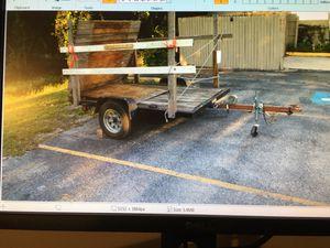 Utility trailer 5 x 8 for Sale in Seminole, FL