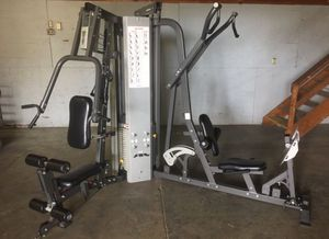 Hoist 2200 Fully Loaded Universal Gym with Leg Press and Oulley for Sale in Bellaire, TX