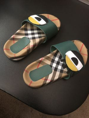 Burberry flip flops U.S size 11 for Sale in Oxon Hill, MD