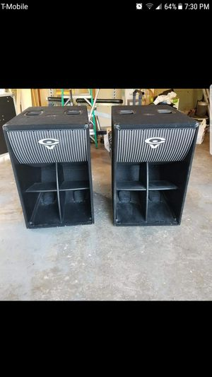 dj speakers & amp cables 1500 for Sale in Bensenville, IL