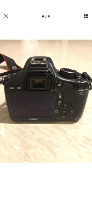 Canon EOS Rebel T2i / EOS 550D 18.0MP Digital SLR Camera - Black (Kit w/ EF-S IS for Sale in New Britain, CT
