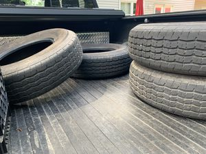 Trailer Tires ST225/75R15 x Set of 4 Excellent Condition less than 3K miles for Sale in Chesapeake, VA