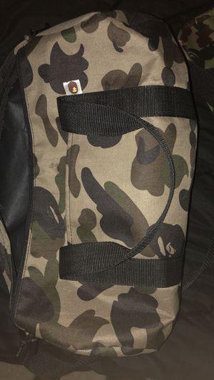 bape duffle bag for Sale in Dunedin, FL