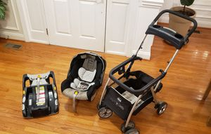 Chicco infant car seat, base and caddy for Sale in Raleigh, NC