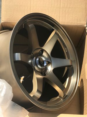 Brand new 17x9 matte bronze concave wheels 5x114.3 all 4 for Sale in Norwalk, CA