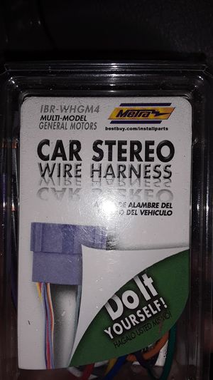GM's stereo wiring kit 1994-2005 for Sale in Ocala, FL
