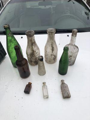 Antique bottles for Sale in Cumberland, RI