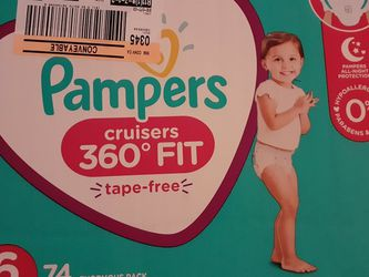 Pampers Cruisers Size 6 for Sale in Tigard,  OR