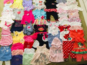 EUC baby girl clothes (3 thru 6m) for Sale in West Palm Beach, FL