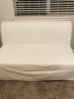 IKEA Full Size Futon With White Cover for Sale in Tualatin,  OR