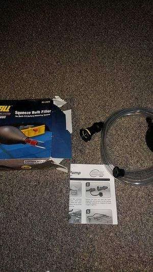 Qwik- fill squeeze bulb filler RV edition for Sale in Joliet, IL