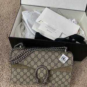 Gucci Dionysus small GG shoulder bag Brand New for Sale in Auburn Hills, MI