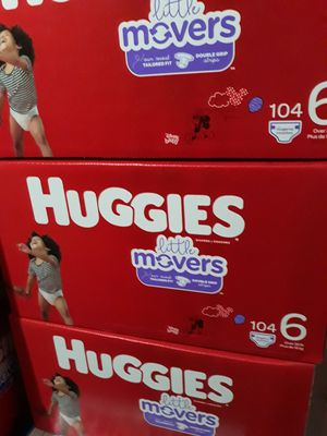 HUGGIES LITTLE MOVERS SIZE 6 $33 CADA UNO PRECIO FIRME for Sale in Santa Ana, CA