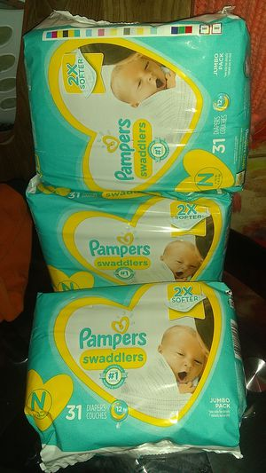 PAMPERS SWADDLERS NEWBORN for Sale in Scottsdale, AZ