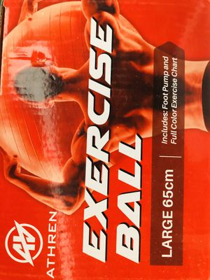 Exercise balls one large and one medium for Sale in Inglewood, CA