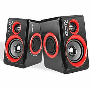 RECCAZR SP2040 COMPUTER/GAMING SPEAKERS IN RED//BLACK NEW IN BOX for Sale in Turlock, CA