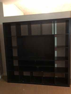 Ikea TV and bookshelf for Sale in Portland, OR