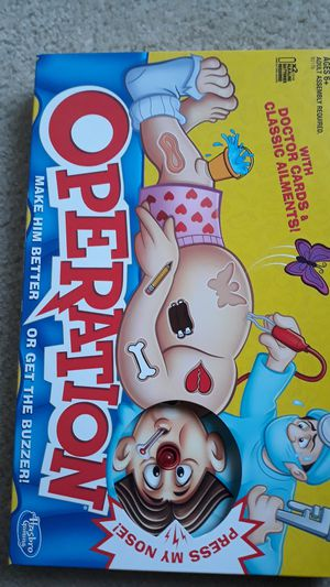 Operation Game for kids - ages 6+ for Sale in Chesapeake, VA