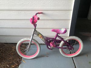 Girls Princess 16 inch bike for Sale in Alpharetta, GA