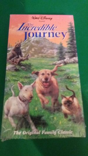 Disney's The INCREDIBLE JOURNEY (VHS) NEW! for Sale in Lewisville, TX