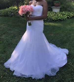 White Wedding Dress for Sale in Washington, DC