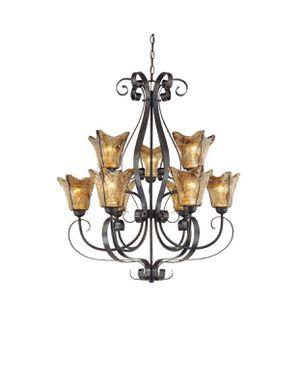 Millenium lighting burnish gold chandelier for Sale in Ontario, CA