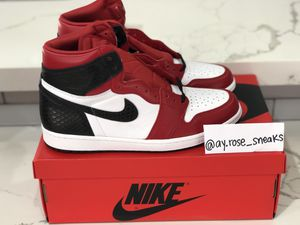 Air Jordan 1 Retro OG Satin Red size 11.5W/10M for Sale in Santa Clarita, CA