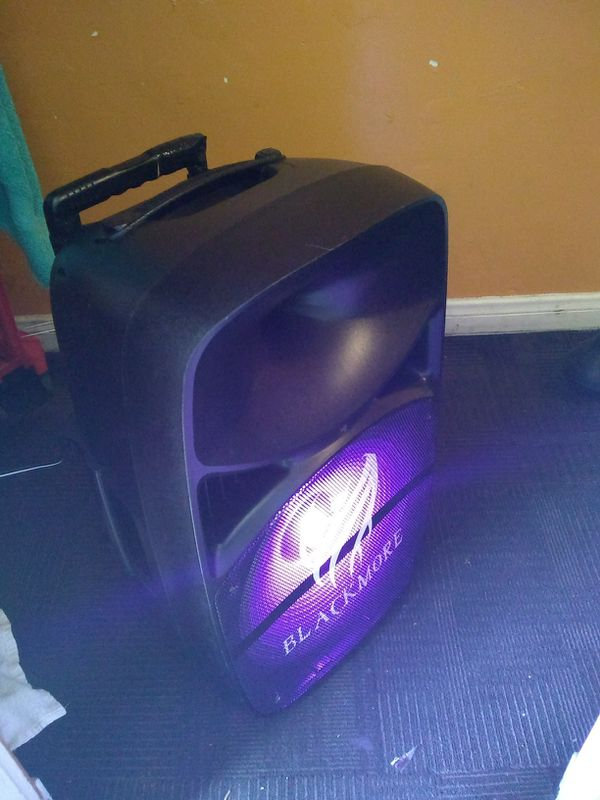 Blackmore Pro Audio BJP-1516BT Speaker System - 1000 W RMS - Wireless Speaker[s] - Portable - Battery Rechargeable
