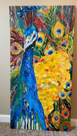 Canvas Art, Beautiful, Perfect Condition, Detailed, Impressive • MOVING• for Sale in Evansville, IN