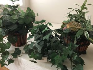 3 artificial plants for home decoration for Sale in New York, NY