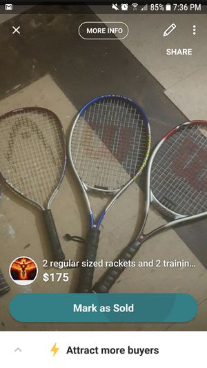 Tennis rackets for Sale in Hyattsville, MD