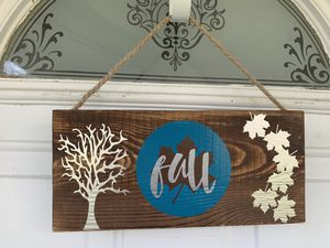 custom signs/ fall decor for Sale in Bell Buckle, TN