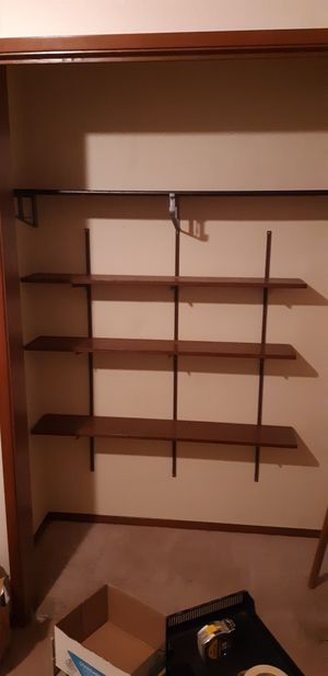 Wall mount shelving system for Sale in Tumwater, WA